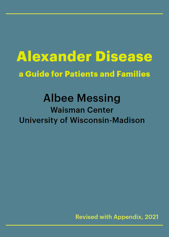 Alexander Disease - A Guide for Patients and Families
